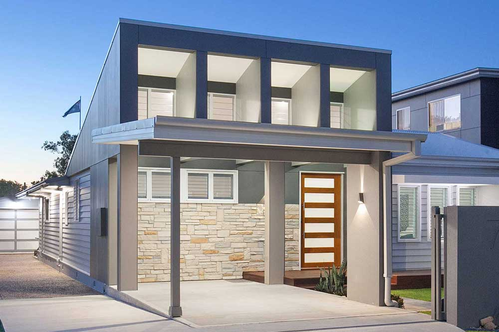 You can stay in the neighbourhood you love, but get a brand new home with a knock down & rebuild